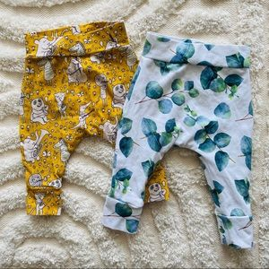 Elmzy.Co made in Australia baby leggings size 000